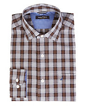 Wrinkle Resistant Plaid Shirt