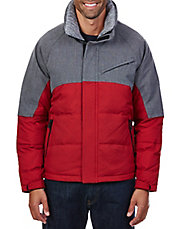 Colorblock Quilted Bomber Jacket