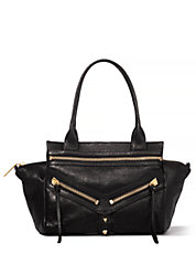 Trigger Small Leather Satchel