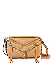 Trigger East West Leather Crossbody Bag
