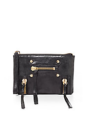 Logan Leather Convertible Wristlet