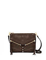 Trigger Studded Leather Crossbody Bag
