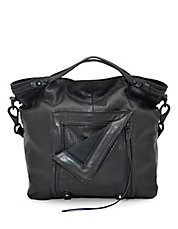 Let It Ride Leather Convertible Tote