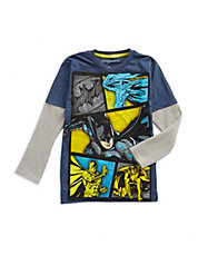 Boys 2-7 Dark Knight Layer Tee
