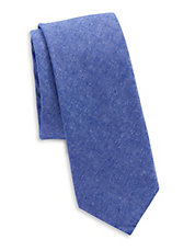Textured Cotton Tie