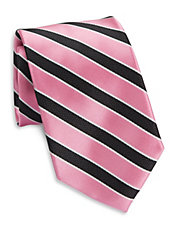 Susan G. Komen Block Striped Tie