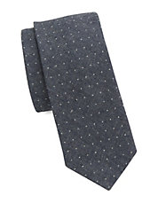 Dotted Cotton Tie