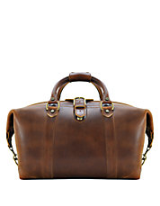 Leather Carryall Duffel Bag
