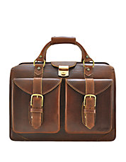 Leather Lawyer Satchel