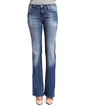 Ashley Distressed Bootcut Jeans
