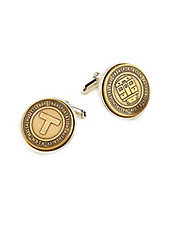 Authentic Massachusetts Bay Transportation Authority Transit Token Cufflinks