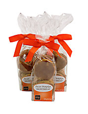 Pecan Pumpkin Shortbread Cookies Set