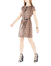 Annalie Cheetah Print Dress