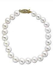 14 Kt. Yellow Gold Akoya Pearl Strand