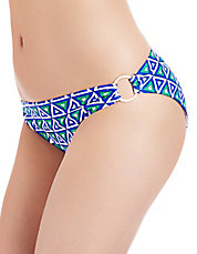 Printed Ring Bikini Swim Briefs