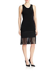 Fringed Sheath Dress