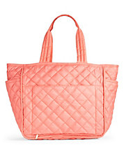 Oversized Quilted Tote