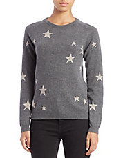 Star Intarsia-Knit Cashmere Sweater