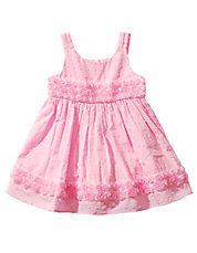 Baby Girls Pin Dot Cotton Dress