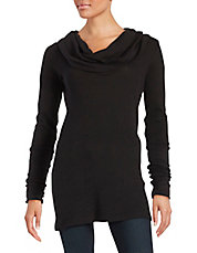 Cowl neck Thermal Top