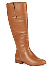 Harper Leather Riding Boots