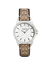 Ladies Classic Signature Strap Watch
