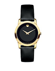 Ladies Museum Classic Goldtone Watch