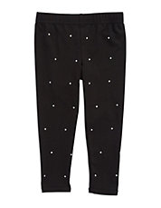 Girls 2-6x Rhinestone Leggings