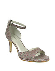 Gea Leather Beaded Sandals