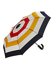 Striped Compact Umbrella