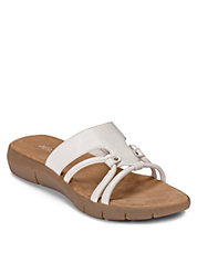 Wipaway Faux Leather Sandals