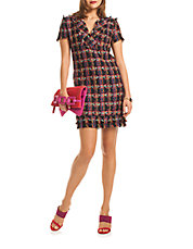 Leann Tweed Dress