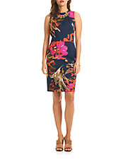 Kurdson Floral Sheath Dress
