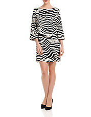 Lesley Zebra Dress