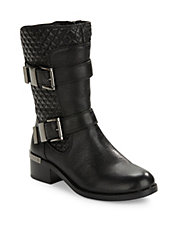 Welton Quilted Leather Boots