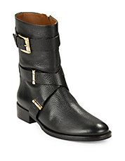 Tunda Leather Ankle Boots