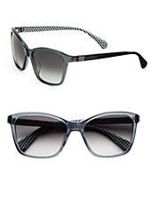 Courtney 56mm Square Sunglasses