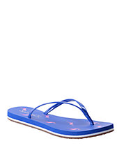 Firefly Patent Leather Thong Sandals