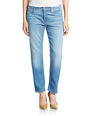 Relaxed-Fit Cropped Jeans