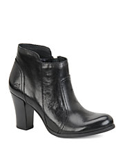 Claire Leather High-Heel Ankle Boots