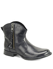 Gilly Leather Booties