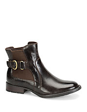 Stewart Leather Ankle Boots