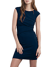 Ruched Bodycon Jersey Dress