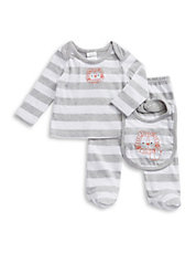 Three-Piece Striped Lion Set