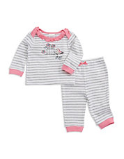 2-Piece Birdcage Tee And Pants Set