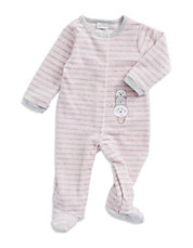 Teddy Bear Fleece Sleeper