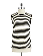 Striped Hi-Lo Tank