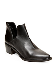 Dextir Leather Ankle Boots