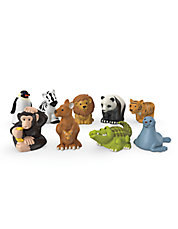 Nine-Piece Little People  Zoo Animal Friends