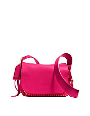 Dakotah Flap Crossbody 21 In Pop Lacing Whiplash Leather
